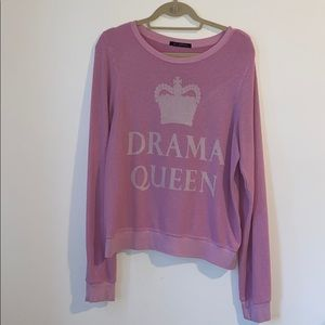 Wildfox couture Drama Queen Sweatshirt